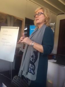 La presidenta de las Mujeres empresarias de Madrid