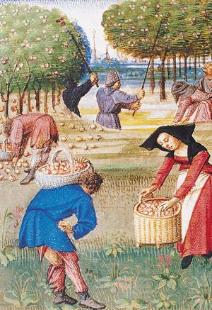 campesina-medieval