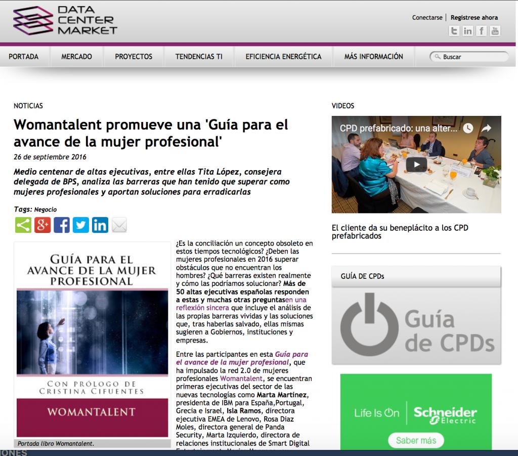 womantalent en data center market
